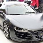 Audi e-tron super car electric vehicle