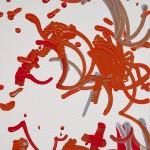 Robotic painting by Benjamin Grosser