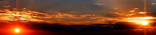 slitscan sunrise