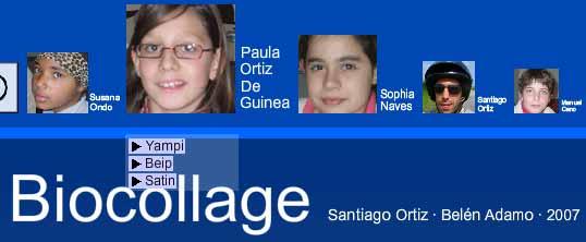 Biocollage by santiago ortiz