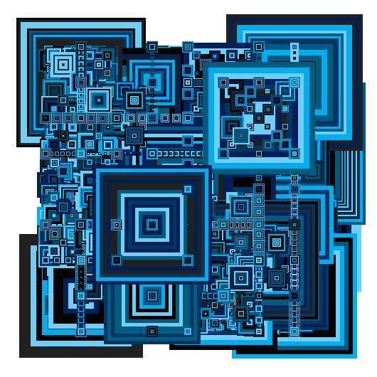 Blue Recursive