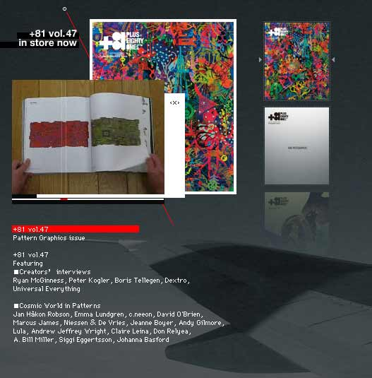 +81 magazine Vol 47 Pattern Graphics issue