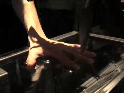 knife hand chop 5 volt core