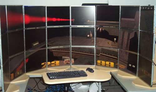 Andrew Sabri--24 monitor configuration