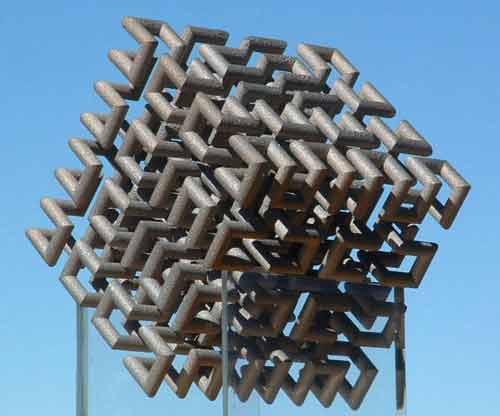 sequin hilbert cube