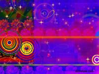 organic flower stars algorithmic art