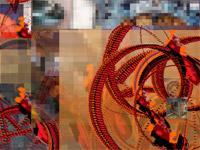 super collider algorithmic art