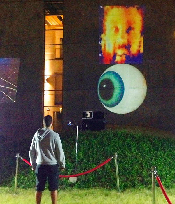 """Watching You Watching Me"" by Don Relyea at Dallas Aurora 2013 – I met this visitor briefly, I think his name was Bill"