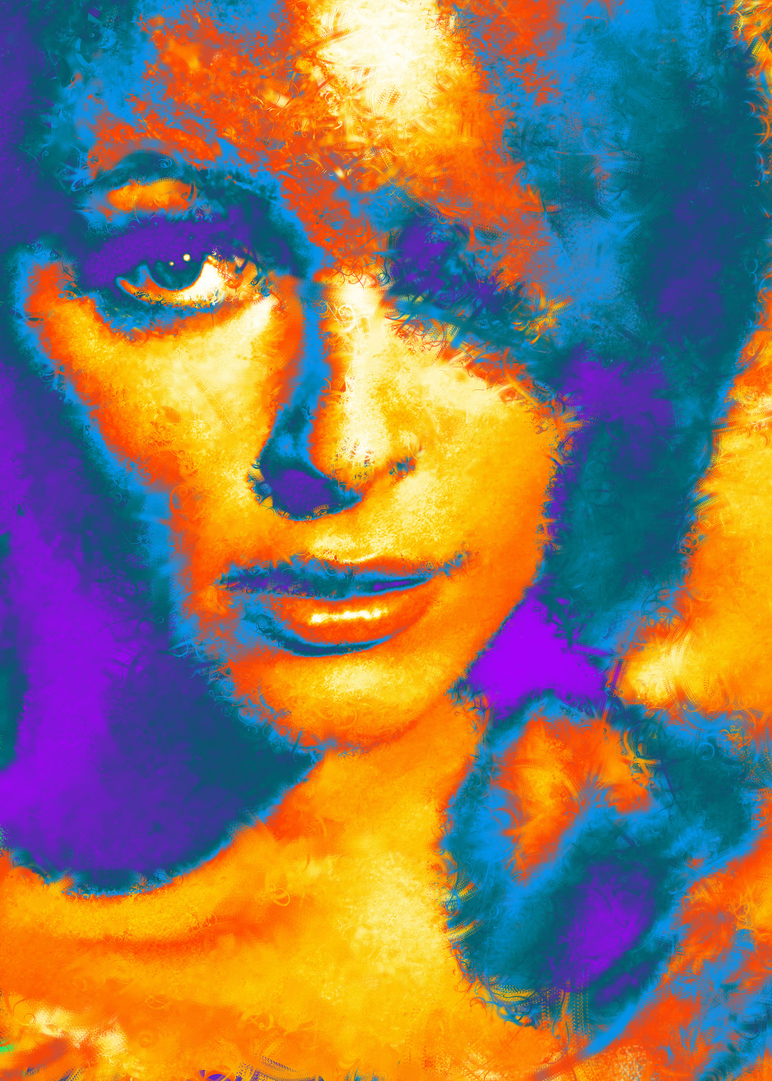 Sharon Tate Portrait series - LACDA Electron Salon Show, Los Angeles