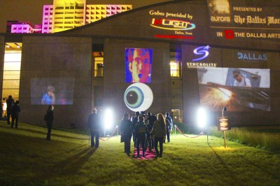 """Dallas Aurora 2013 – """"Watching You Watching Me"""" by Don Relyea"""