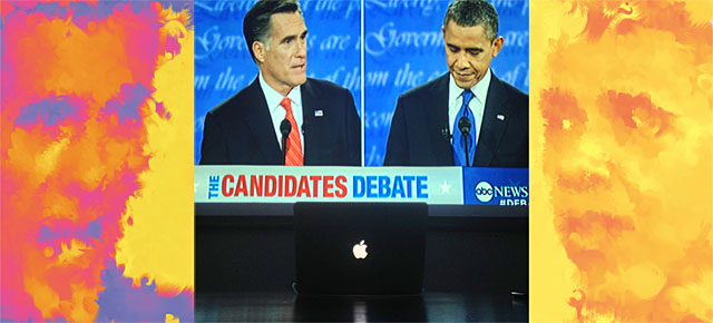 Computer Watches 2012 Presidential Debates and Creates Generative Portraits of the Future President of the United States